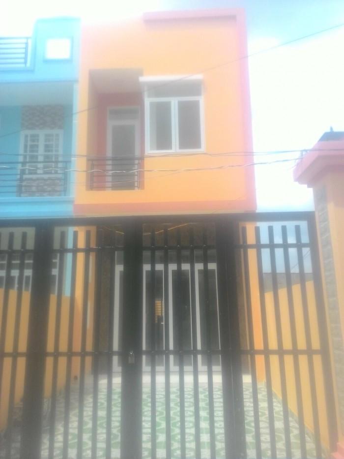 Cần Bán Gấp Nhà 1 Trệt 1 Lầu 4 Phòng, sổ hồng riêng