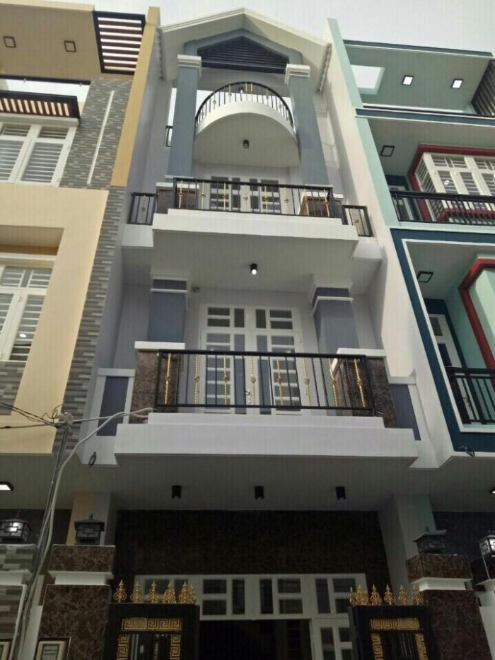 Nhà 1 trệt 2 lầu Phước Long B tổng dt 153m2,đường hiện hữu 5m, 1 sẹc đường lớn kinh doanh