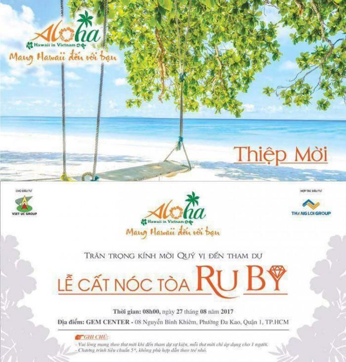 7 lý do tuyệt vời để đầu tư ngay vào condotel Aloha Phan Thiết - LH Mr. Phú