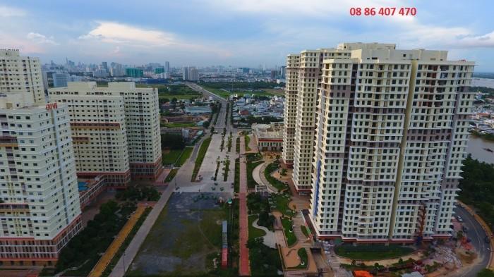 Bán căn hộ Q7 gần Phú Mĩ Hưng dọn vào ở ngay view sông