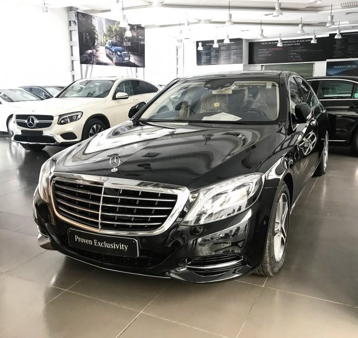 Bán Mercedes S400 2017 Đen/Kem chạy 2.600km giá cực tốt