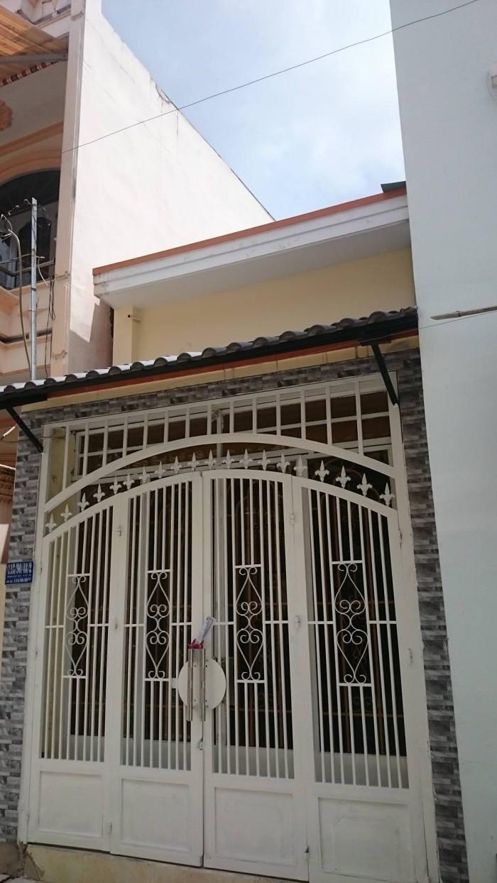 HXH 118 Phan Huy ích Tân Bình, 3,2x12m, trệt lửng, TL, hẻm 6m thông