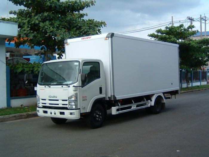 Bán Xe isuzu 5T5 thùng dài