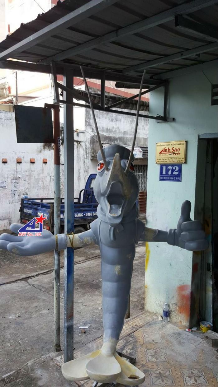 Quảng cáo Ánh Sao Trẻ thi công Mô hình linh vật 3D - Mô hình linh vật nhà hàng - Hình 2