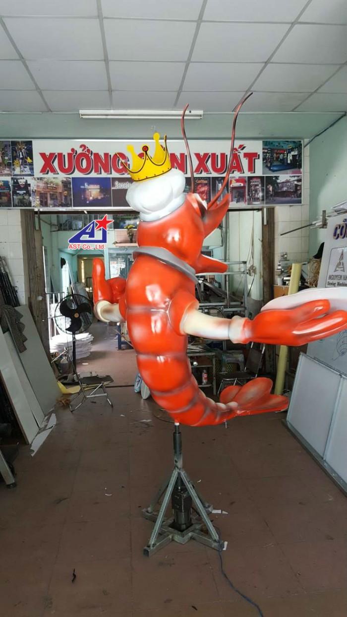 Quảng cáo Ánh Sao Trẻ thi công Mô hình linh vật 3D - Mô hình linh vật nhà hàng - Hình 9