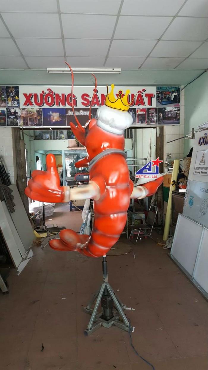 Quảng cáo Ánh Sao Trẻ thi công Mô hình linh vật 3D - Mô hình linh vật nhà hàng - Hình 12