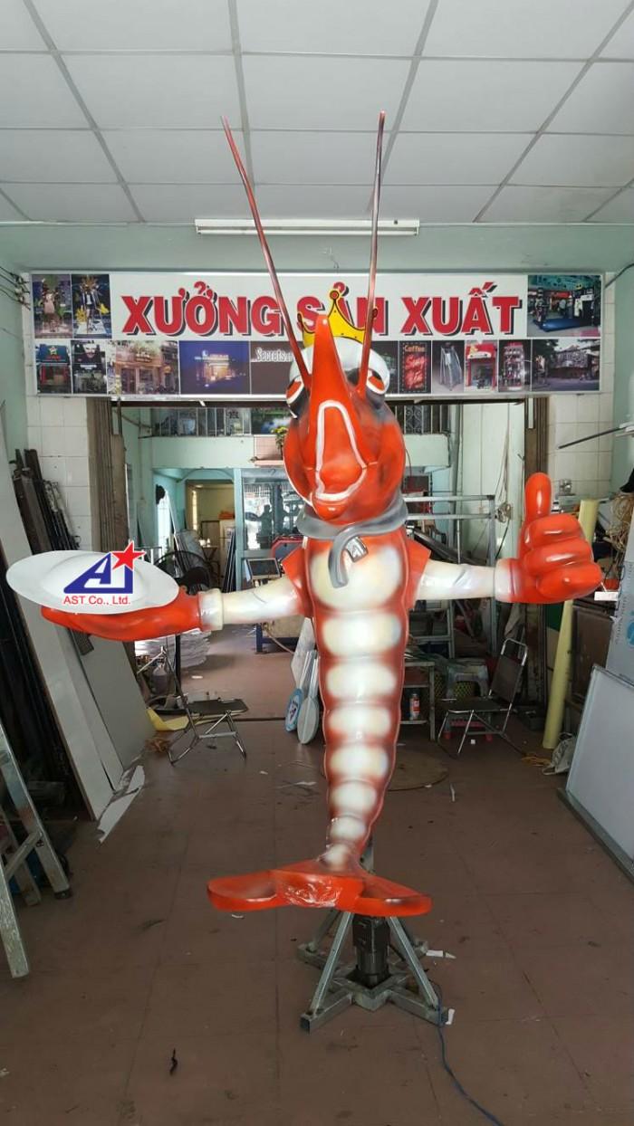 Quảng cáo Ánh Sao Trẻ thi công Mô hình linh vật 3D - Mô hình linh vật nhà hàng - Hình 13