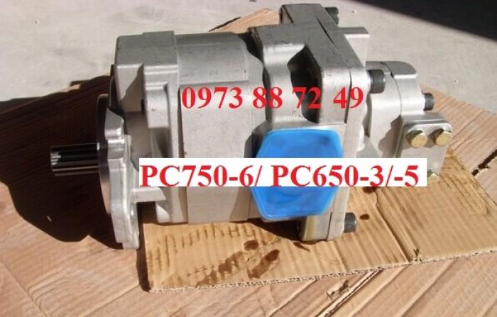 Bơm thủy lực Komatsu PC750-6/ Gear hydraulic pump PC750-6.