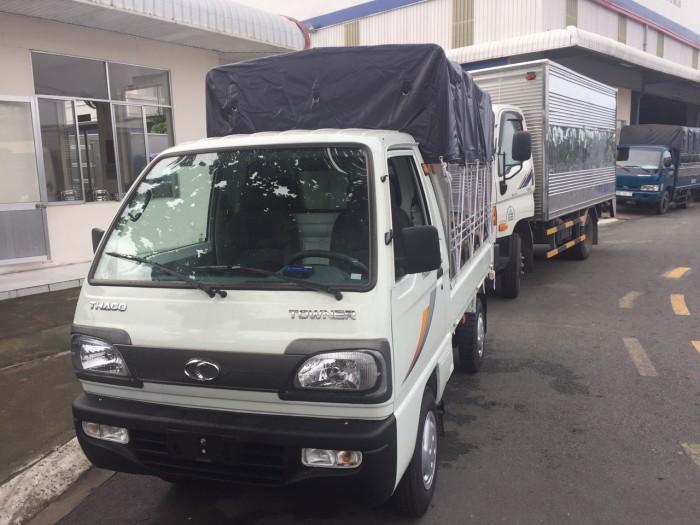 Xe tải nhẹ Thaco Towner 990kg mới 2017, Công nghệ Nhật Bản phun xăng điện tử .