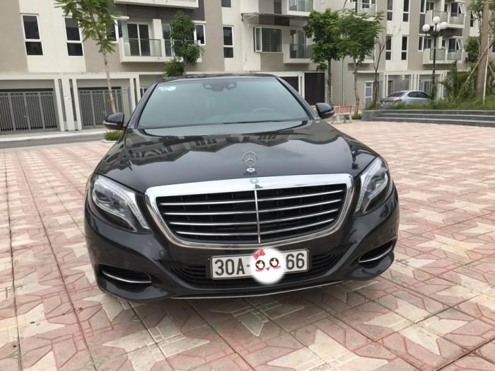 Mercedes-Benz S400 sản xuất năm 2014 Số tự động Động cơ Xăng