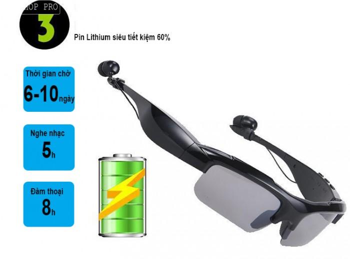Kính nghe nhạc bluetooth Stereo sport KL-3004