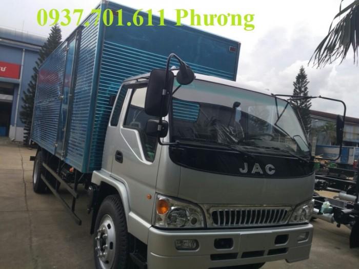 Xe tải jac HFC1383K1  7.8 tấn thùng dài 7.6 mét hỗ trợ trả góp 1