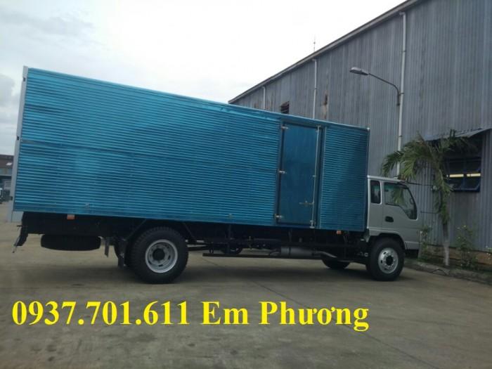 Xe tải jac HFC1383K1  7.8 tấn thùng dài 7.6 mét hỗ trợ trả góp 2
