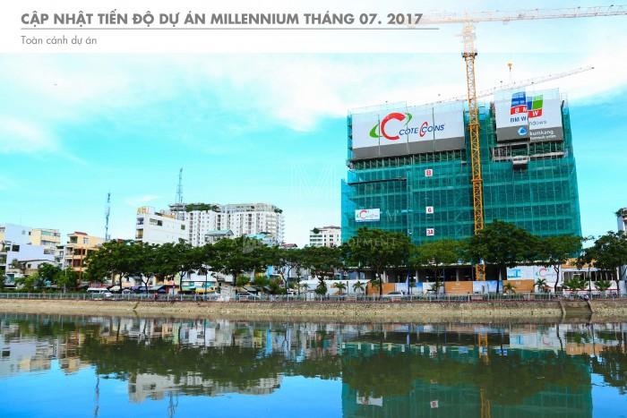 Chính Thức Mở Bán Officetel Millenium 132 Bến Vân Đồn Q4, Hõ Trợ Ls 0%