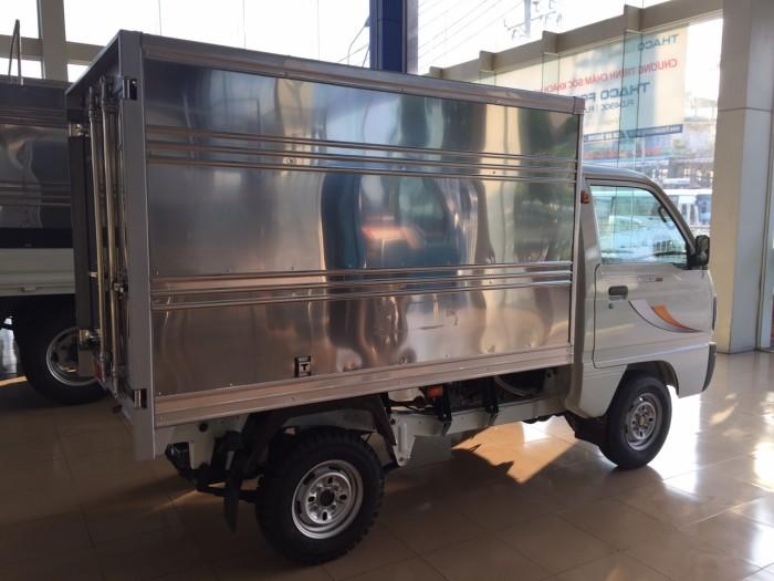 Thaco Towner800 tải trọng 990kg.  phun xăng điện tử dung tích 970cc . Hổ trợ trợ trả góp đến 80% 1