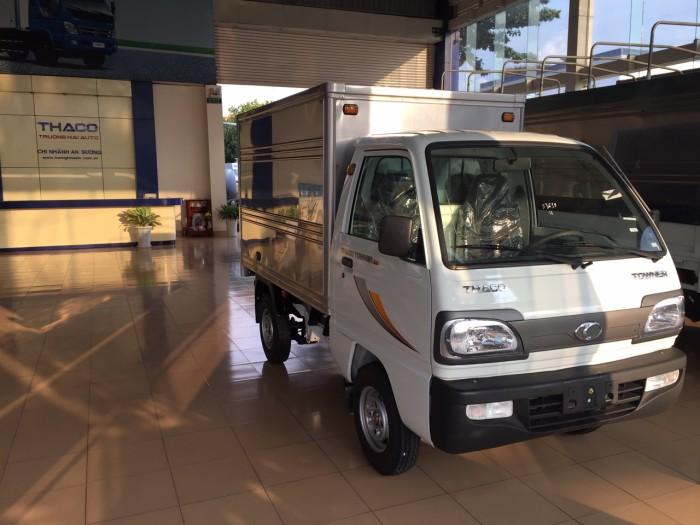 Thaco Towner800 tải trọng 990kg.  phun xăng điện tử dung tích 970cc . Hổ trợ trợ trả góp đến 80% 0