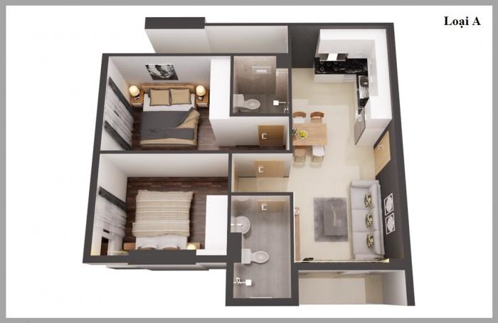 Cơ hội vàng có 1 không 2 sở hữu căn hộ chung cư cao cấp Kingsway Tower gần AEON Mall Tân Phú