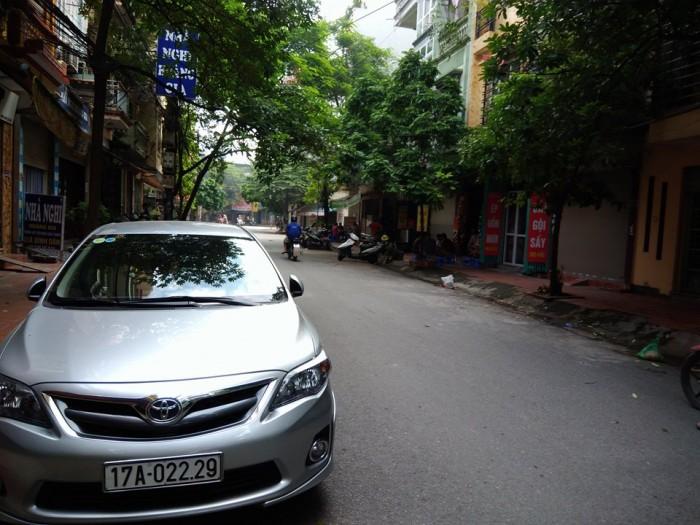 Bán nhà  chia lô Đền Lừ, Quận Hoàng Mai Hà Nội diện tích 40m2x4 tầng
