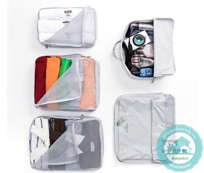 Bộ 5 túi bags in bag traveling NX68101
