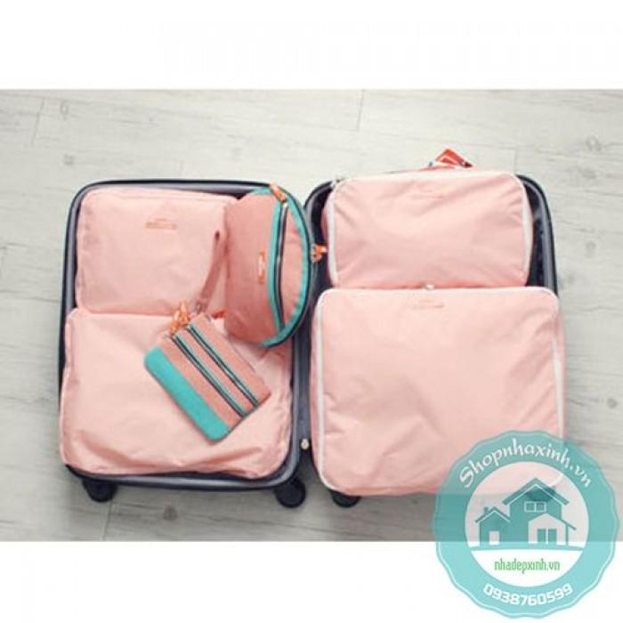 Bộ 5 túi bags in bag traveling NX68102