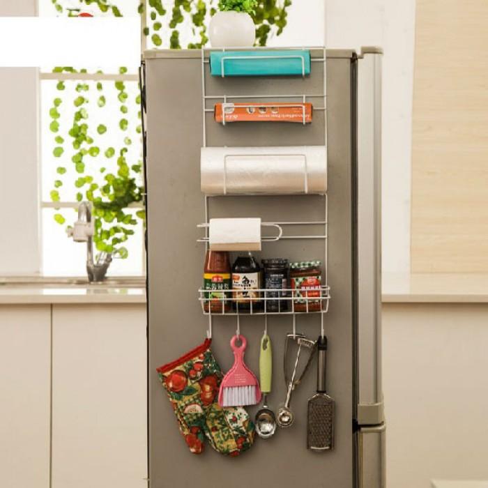 Giá treo cạnh tủ lạnh đa năng thông minh giá rẻ NX69060