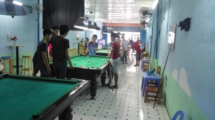 Sang quán bida kết hợp cafe bóng đá