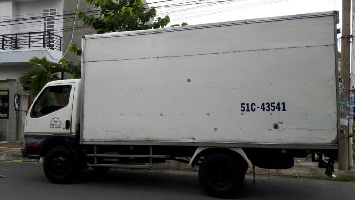Xe tải thùng Mitsubishi cũ 0