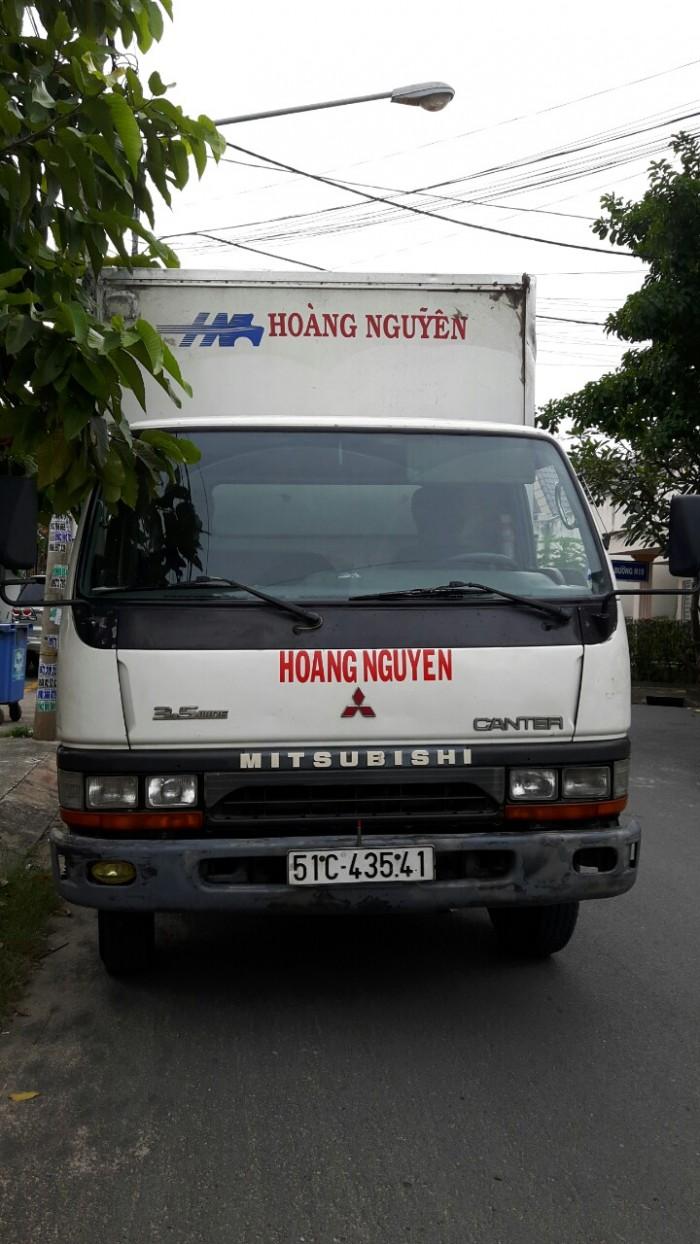 Xe tải thùng Mitsubishi cũ 1