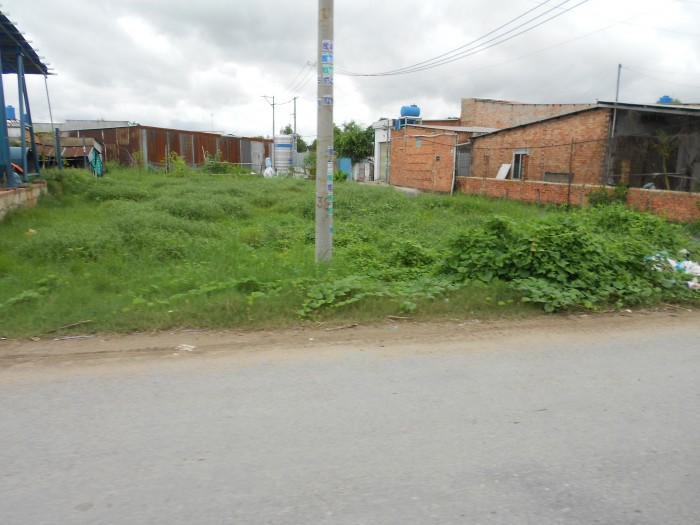 Đất thổ 120m2, gần trường trung học cơ sở khôi nhiên, bình chánh. shr