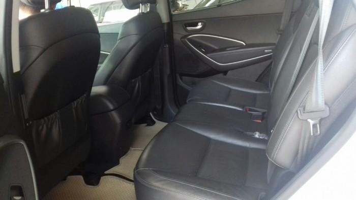 Hyundai Santa Fe 4WD 2.4AT sx 2015 màu trắng 3
