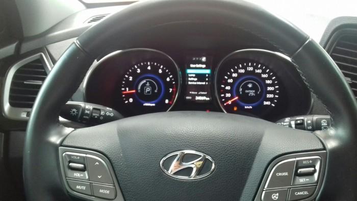 Hyundai Santa Fe 4WD 2.4AT sx 2015 màu trắng 6
