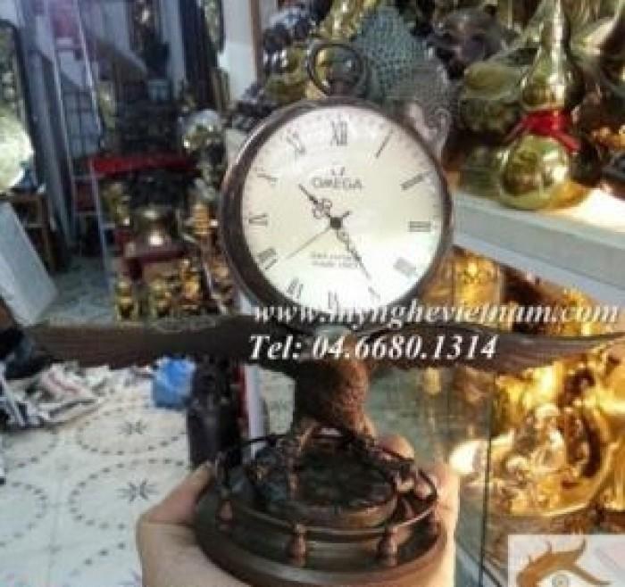 Đồng hồ đại bàng, đồng hồ bằng đồng
