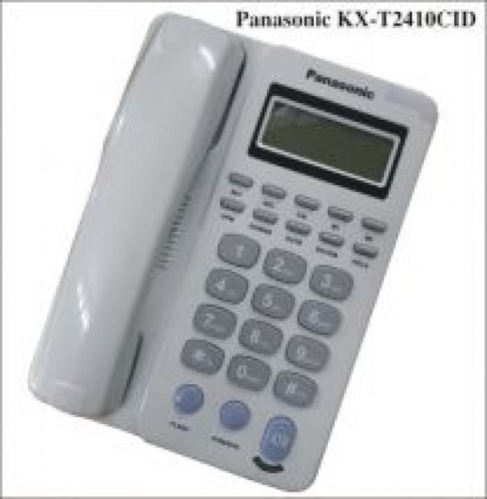 Máy điện thoại bàn sang trọng đa tiện dụng Panasonic KX-T2410 CID