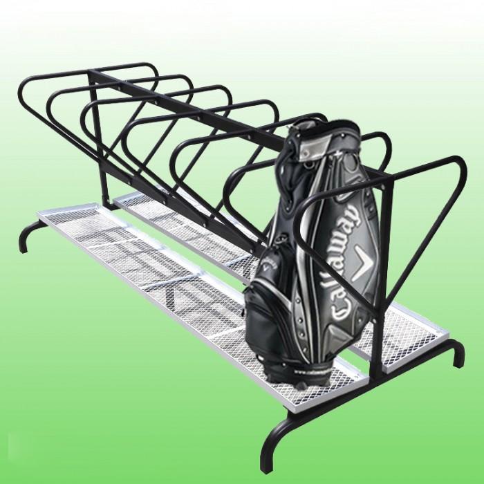 Giá để 12 túi gậy, giá để gậy golf2