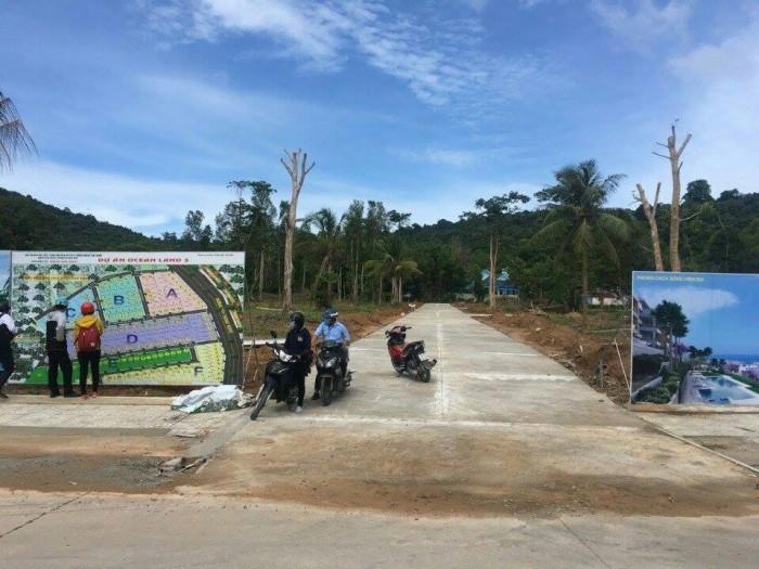 Bán đất nền dự án Ocean Land 3 đường Cây Thông Ngoài chỉ cách Trung tâm Dương Đông 2 phút chạy xe
