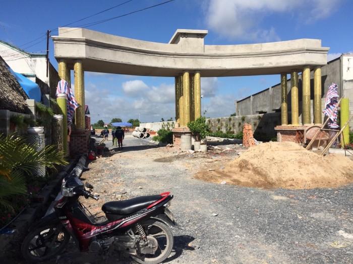 Bán 2 lô đất mặt tiền cổng chính tại dự án Hưng Thịnh Cát Tường
