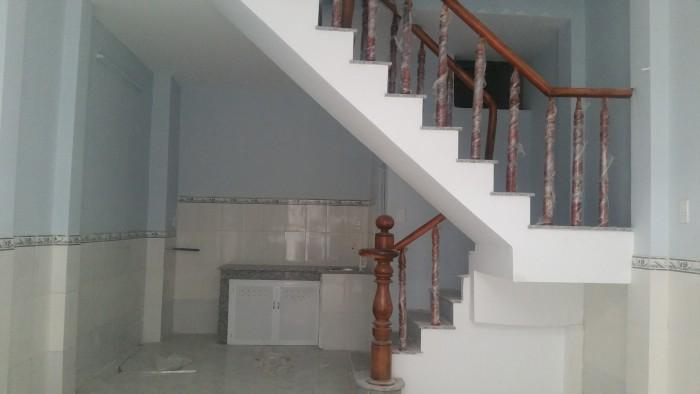 Nhà mới 1 trệt 1 lầu 4x7m ngay chợ Mỹ Nga Bình Tân
