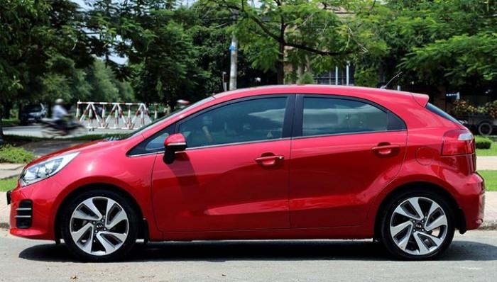 HÀNG LƯỚT – Bán Kia RIO đk 2016 màu đỏ Full đồ 0
