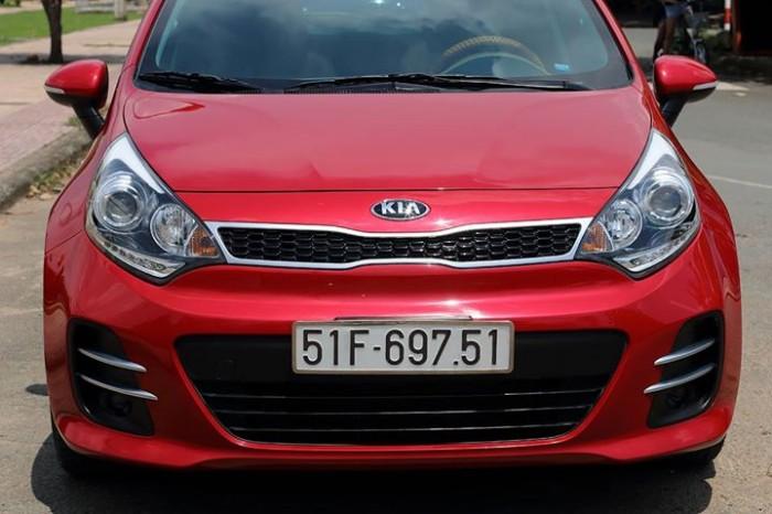 HÀNG LƯỚT – Bán Kia RIO đk 2016 màu đỏ Full đồ 2