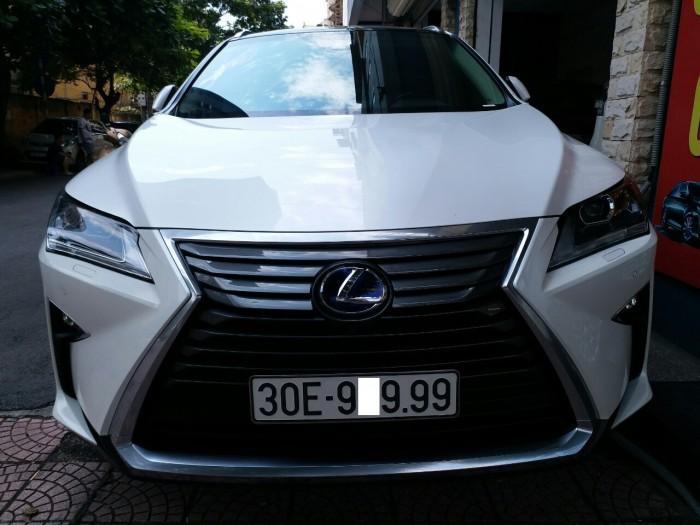 Lexus RX450H model 2016 nhập khẩu từ Mỹ, Biển VÍP Hà Nội