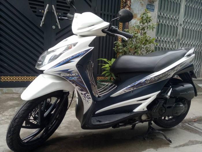 Suzuki hayate SS Fi 2k12 trắng xanh bstp chính chủ mới 95%