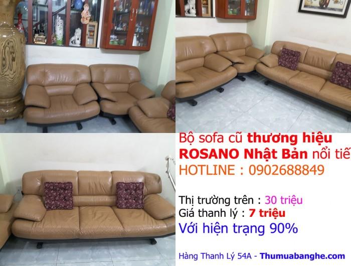 Bán sofa - salon cũ tại TPHCM - Hàng Độc - Giá SỐC Đẳng cấp thợ săn