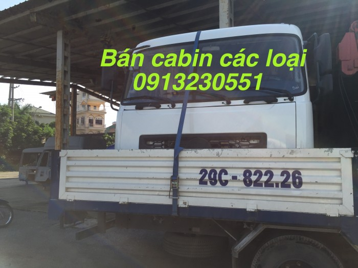 Bán Cabin Xe Dongfeng, Howo, Kia, Cửu Long Tmt
