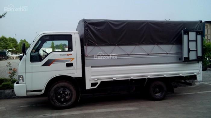 Thaco Kia K165 tải 2,4 tấn với các option thùng lửng, thùng mui bạt, thùng kín 12