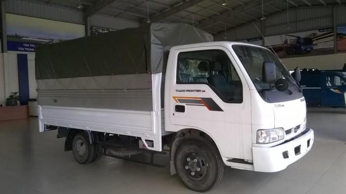 Thaco Kia K165 tải 2,4 tấn với các option thùng lửng, thùng mui bạt, thùng kín 9