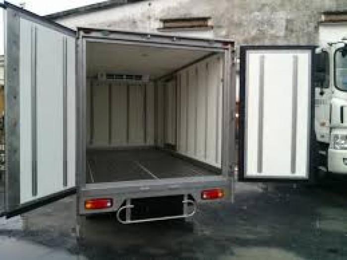 Thaco Kia K165 tải 2,4 tấn với các option thùng lửng, thùng mui bạt, thùng kín 11