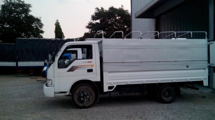 Thaco Kia K165 tải 2,4 tấn với các option thùng lửng, thùng mui bạt, thùng kín 16