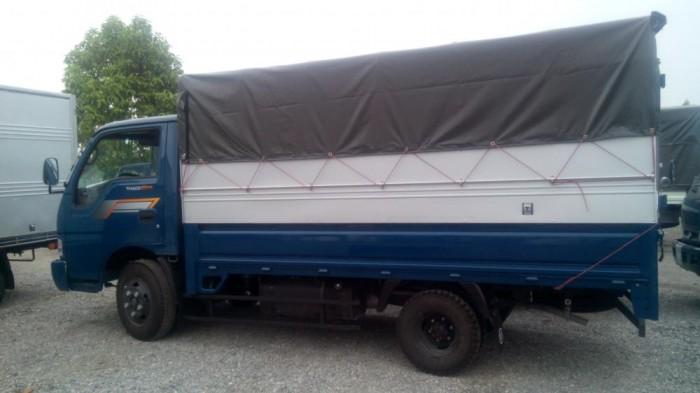 Thaco Kia K165 tải 2,4 tấn với các option thùng lửng, thùng mui bạt, thùng kín 7