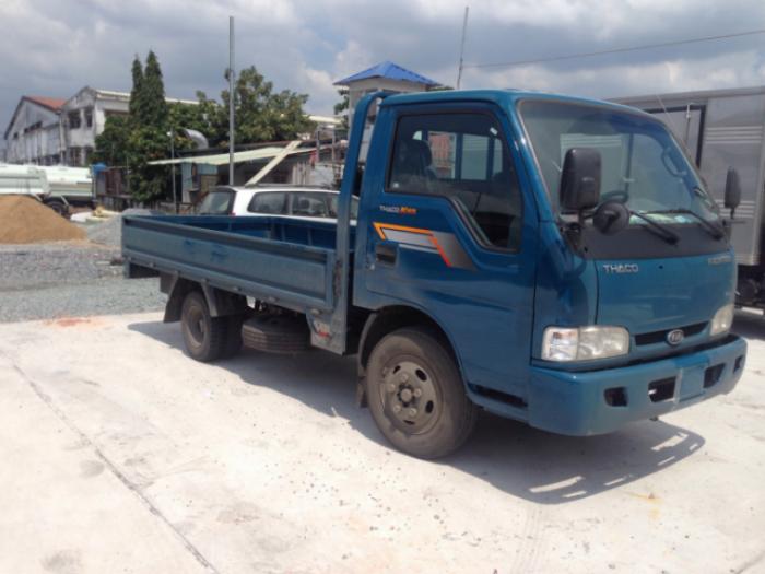 Thaco Kia K165 tải 2,4 tấn với các option thùng lửng, thùng mui bạt, thùng kín 15
