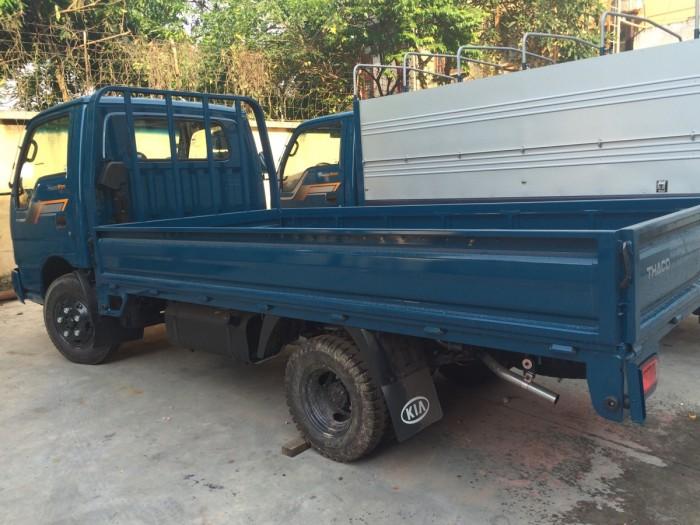 Thaco Kia K165 tải 2,4 tấn với các option thùng lửng, thùng mui bạt, thùng kín 6